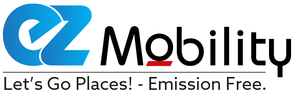 LOGO_EZ_MOBILITY - Let's Go Places! Emission Free.